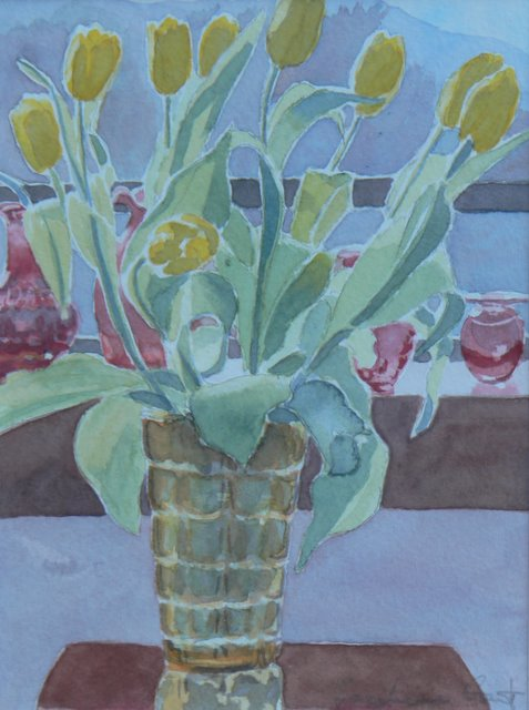 Yellow Tulips - SOLD