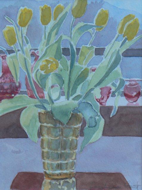 Yellow Tulips - SOLD