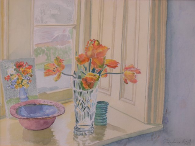 Parrot Tulips & Darine's Bowl