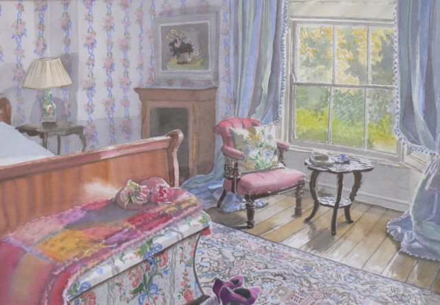 Late Summer in the Blue Room