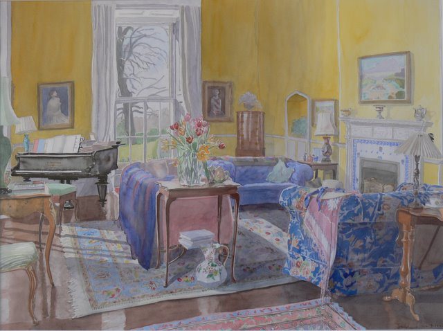 Tulips in the Drawingroom, Avening