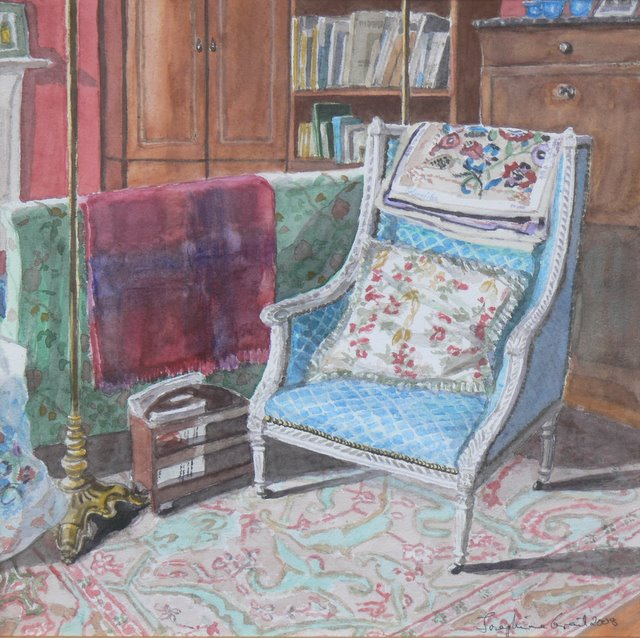 Needlework in the Study