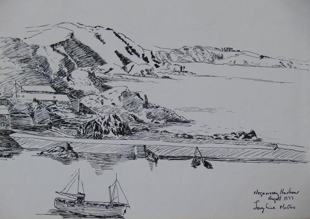 Mevagissey Harbour No 2 (unframed)