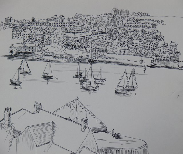 Mevagissey Harbour (unframed)