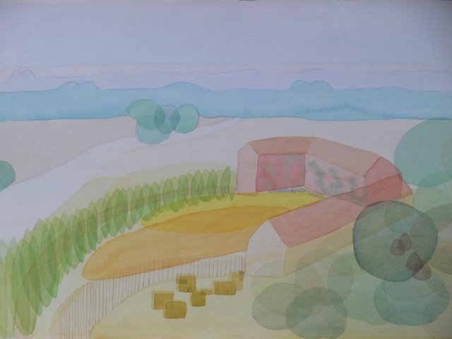 Imaginary Landscape , Spain (unframed)