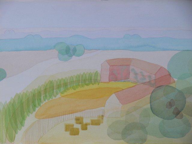 Imaginary Landscape , Spain (unframed)