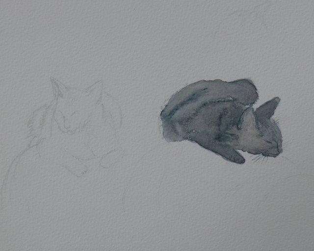 Samantha sketches (unframed)