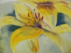Yellow Lilies (unframed) - SOLD