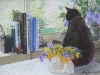 Finzi and Spring Flowers - SOLD