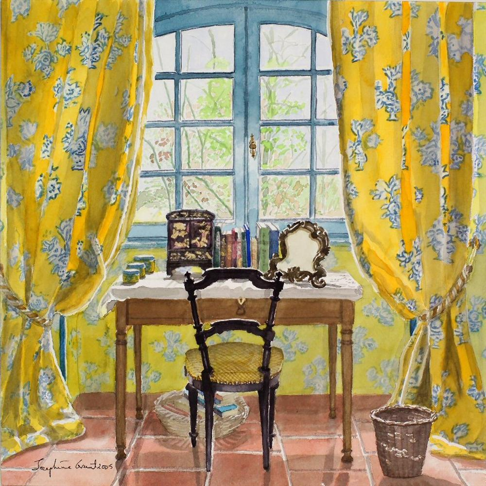 Spring in the Yellow bedroom - SOLD