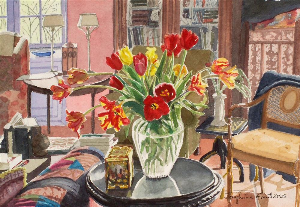 Tulips, Tourneferie