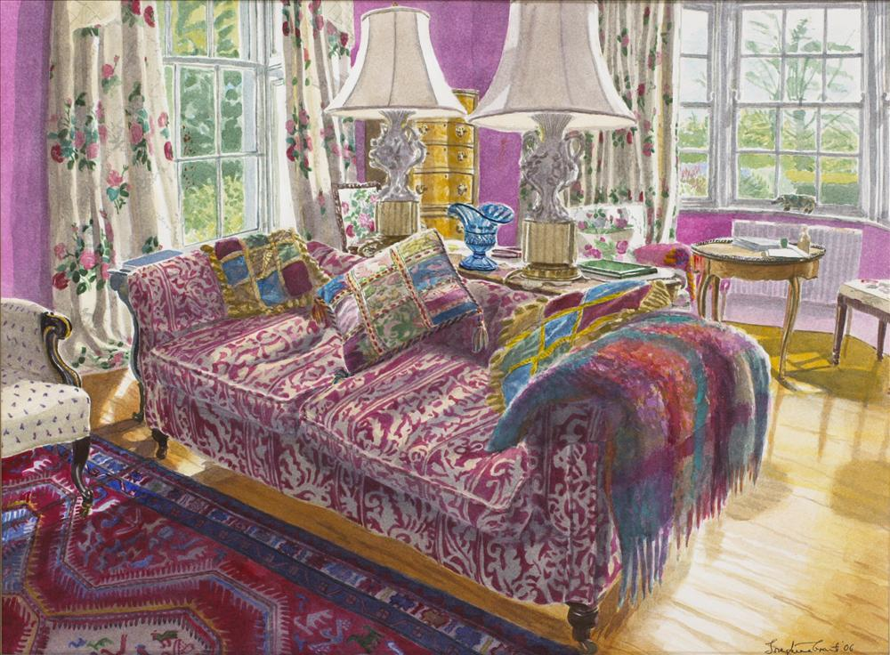 Venetian Cushions - SOLD