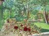 Hawthorn & Dahlias, September